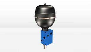 accumulator charging valves poclain