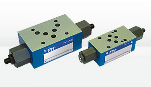 flow control valves poclain