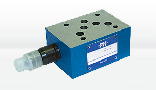 pressure control valves poclain